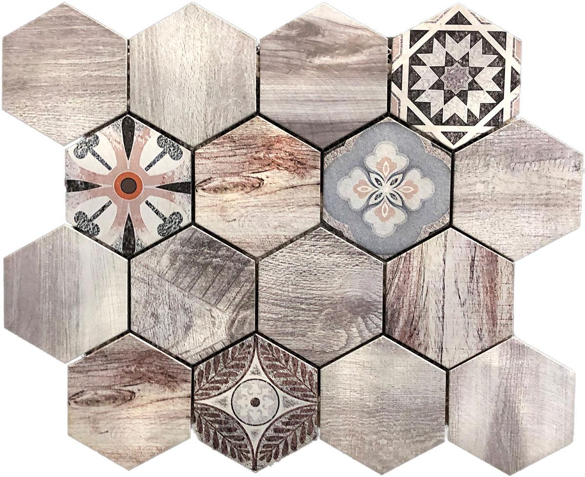 BRUSHED Aluminiummosaik Image