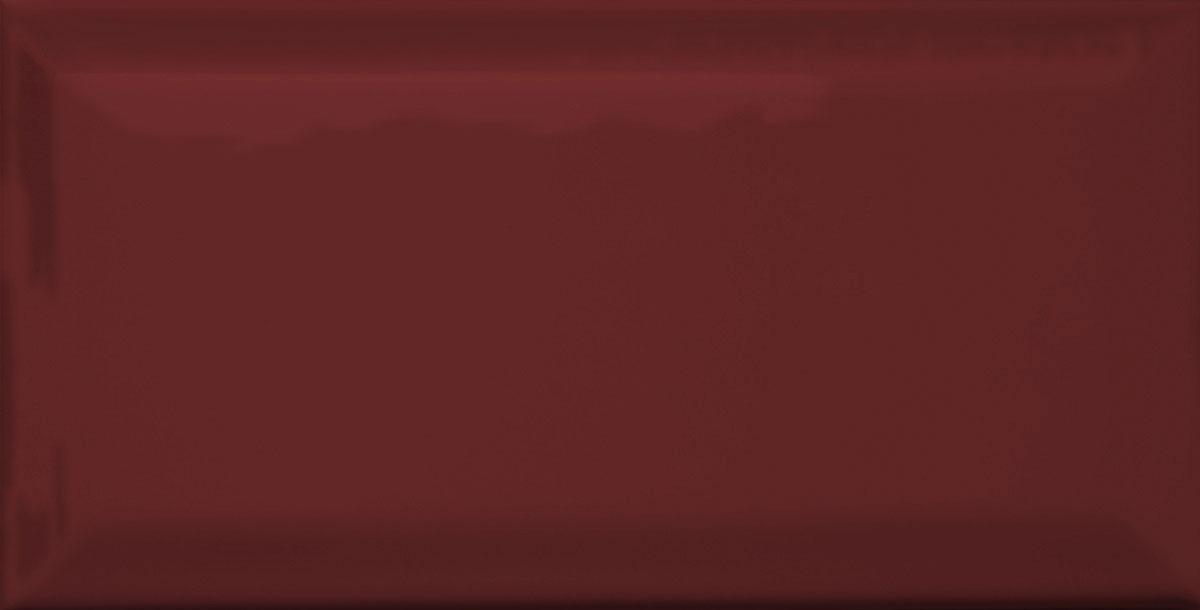 METRO Fliesen mit Facette burgunderrot glänzend Image